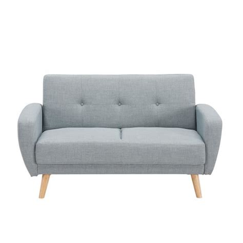but canap convertible 2 places canapé 2 places convertible scandinave gris silo achat