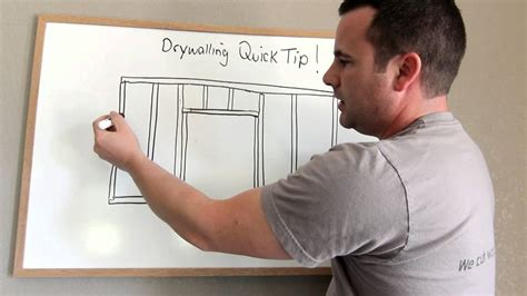 how to make a door in drywall how to hang drywall to avoid cracks around doors 2010
