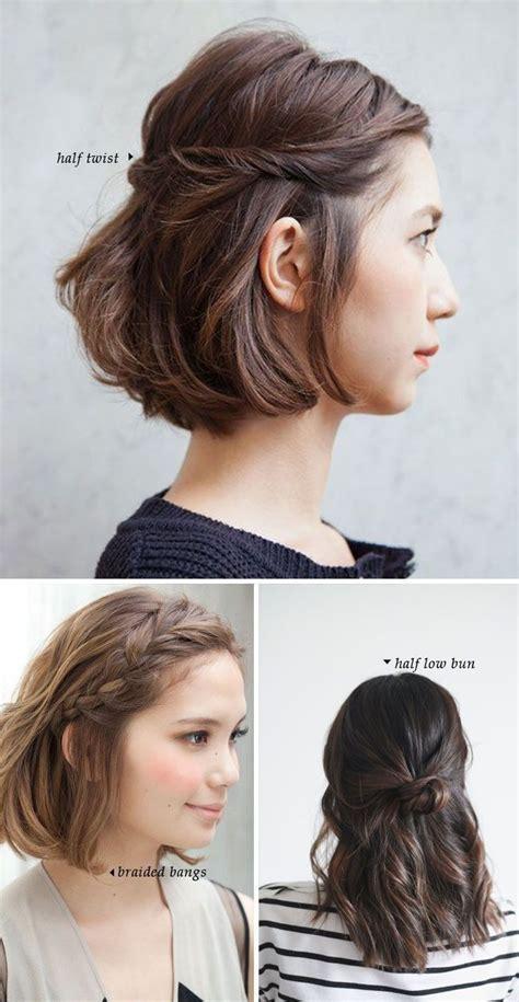 einzigartige zurueck zu schulfrisuren kurzes haar hair