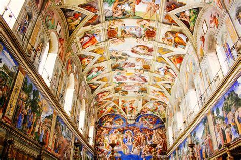 le plafond de la chapelle sixtine a la d 233 couverte de la chapelle sixtine 224 rome