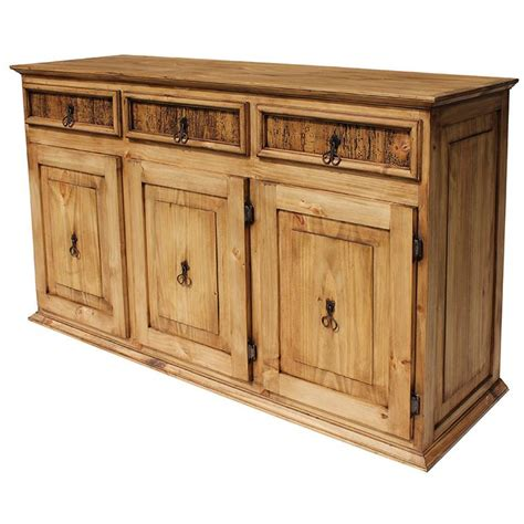 Classic Sideboard Furniture by Rustic Pine Collection Largeclassic Sideboard Com05