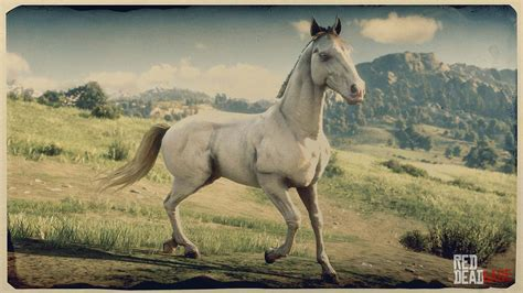 rdr2 andalusian horse dead redemption breeds horses