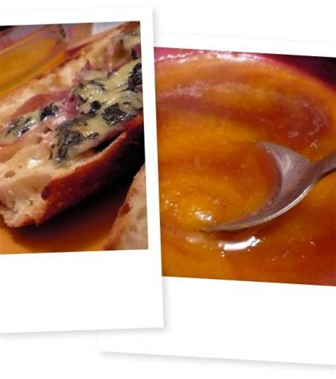 cuisine soupe de carotte patate douce et chabrot