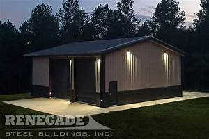 40x40 metal building 40x40 steel building renegade With 40x40 garage cost
