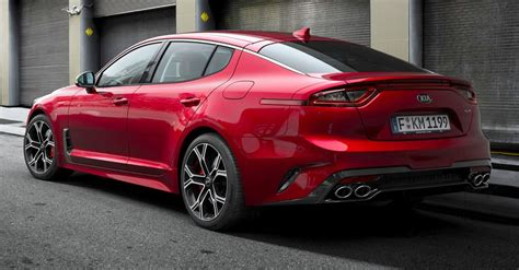 Kia Confirms European Stinger Specs, Gets 200ps 22l Diesel