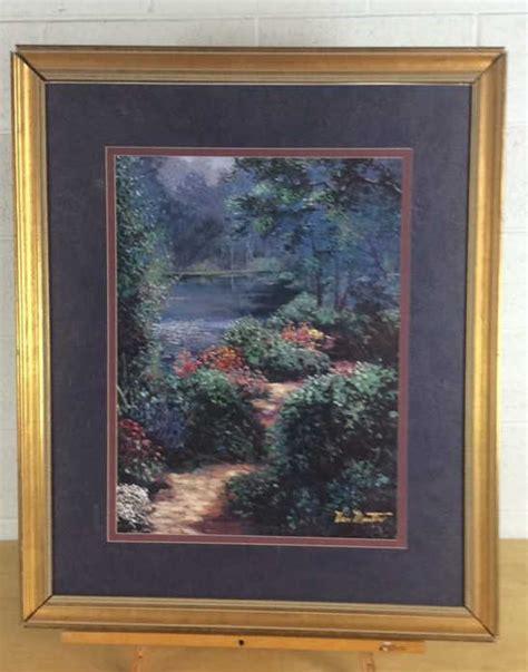 van martin forest path print