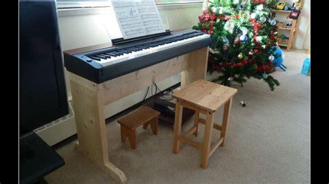 homemade digital piano stand youtube