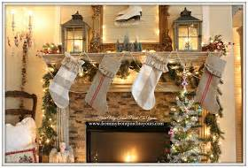 From My Front Porch To Yours Christmas Mantel 2014 & Blog Hop