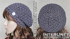 Crochet Slouchy Hat  U2013 Pattern For Beginners