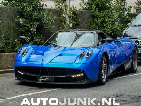 blue pagani pagani huayra blue foto s 187 autojunk nl 98224