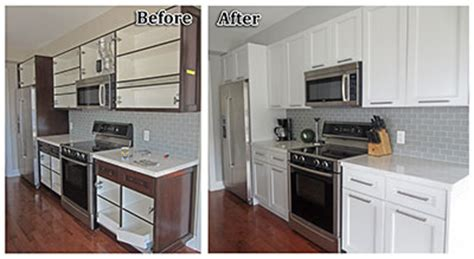 painting oak kitchen cabinets before and after how to paint oak cabinets home painters toronto 9707