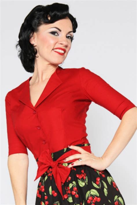 s shirts and blouses 1950s rockabilly pinup tops shirts blouses