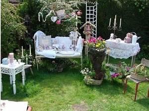 Salon De Jardin Romantique : mon jardin romantique c lia et ses chats ~ Dailycaller-alerts.com Idées de Décoration