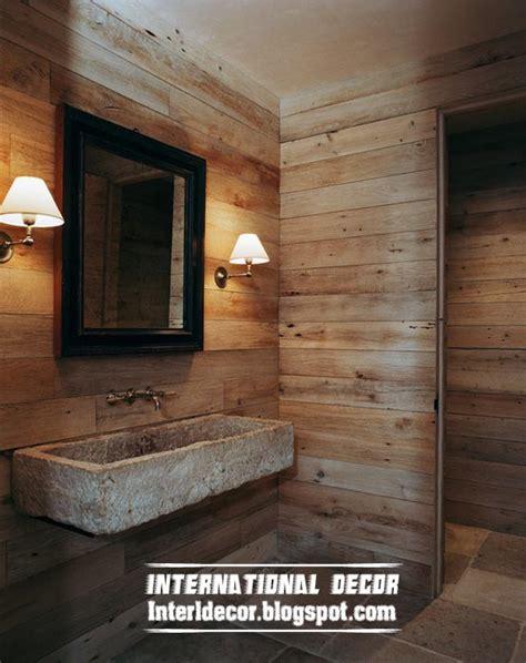 bathroom wall design ideas best 15 wooden bathroom decorating ideas and designs photos