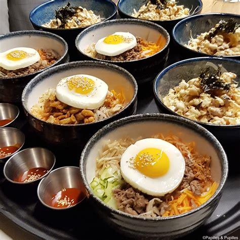 cuisine coreenne restaurant bibibap bordeaux cuisine coréenne