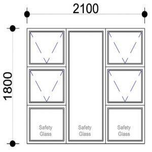 aluminium windows top hung windows  door prices sigmadoors