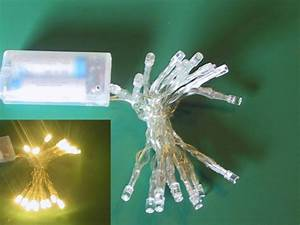 Led Lichterkette Mit Batterie : micro led lichterkette m batterie schalter 20er transp warmes licht mini lichterketten ~ Watch28wear.com Haus und Dekorationen