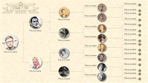 family tree powerpoint templates slidemodel