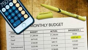 Free Debt Snowball Calculator Budgeting How To Create And Use A Personal Budget
