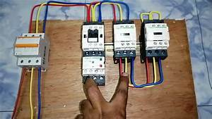 Star Delta Starter Power Connection With Wiring Diagram By