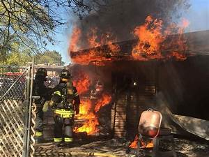 Turkey fryer disaster: Firefighters battle house fire on ...