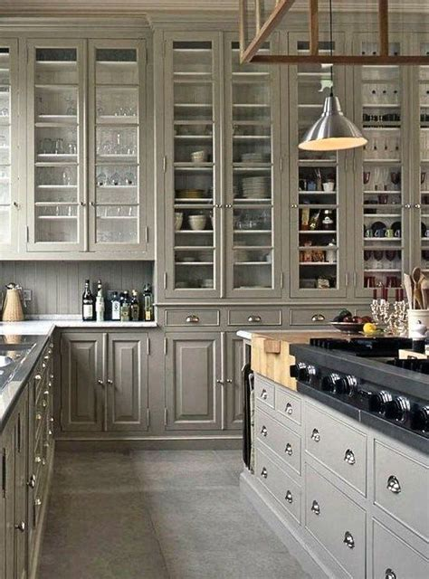 brilliant tall kitchen cabinet ideas  images