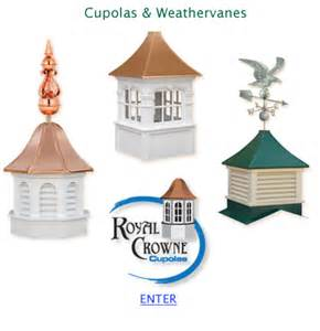 Amish Cupolas and Weathervanes