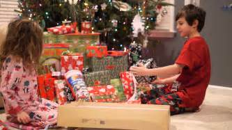 kids reaction opening presents on christmas day youtube
