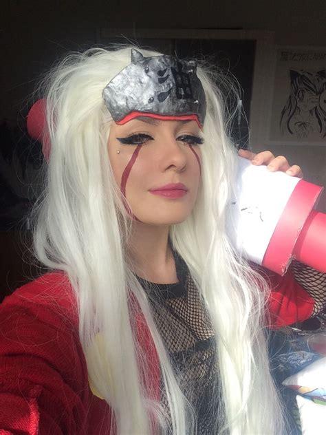 jiraiya makeup cosplay juliana scramocin atncromance