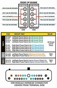 Wiring Diagram  12 73 Powerstroke Injector Harness Diagram
