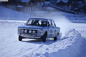 BMW 2002 TI Rallye-Werkswagen bei Historic Ice Trophy 2013 ...