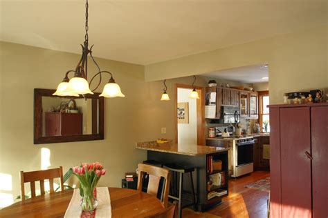 kitchen with open floor plan tully ny