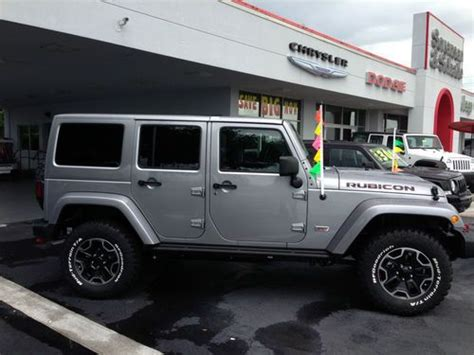 jeep wrangler 4 door silver find new 2013 jeep wrangler unlimited rubicon 10th