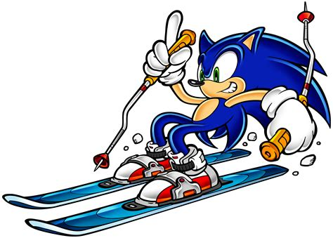 Sonic Adventure - Skiing (Downhill) - Sonic the Hedgehog ...