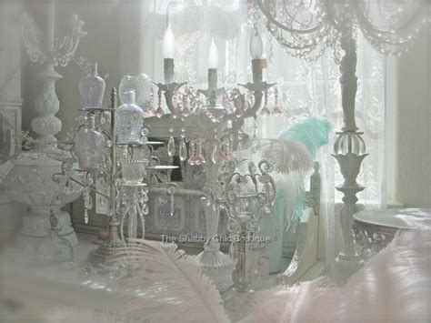 shabby chic items for the home shabby french chic beaded candelabra table l pink crystal prism antique white ebay