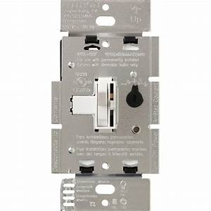 Lutron Toggler 250w C L Dimmer Switch For Dimmable Led