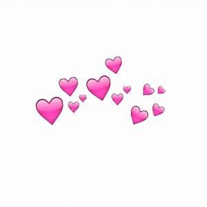 photobooth hearts transparent | Tumblr