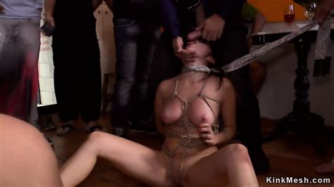 Tied Up Busty Petite Babe Sex In Public Eporner