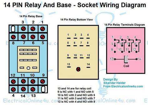 14 pin relay wiring diagram finder relay wiring