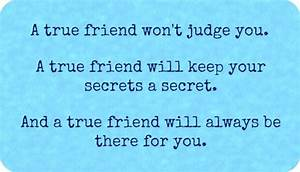 True Friendship Quotes. QuotesGram