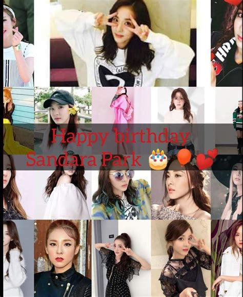 Her birthday, what she did before fame, her family life, fun trivia facts, popularity rankings, and more. 12/11/2018/Happy Birthday Park Sandara Sandy, Krung-krung