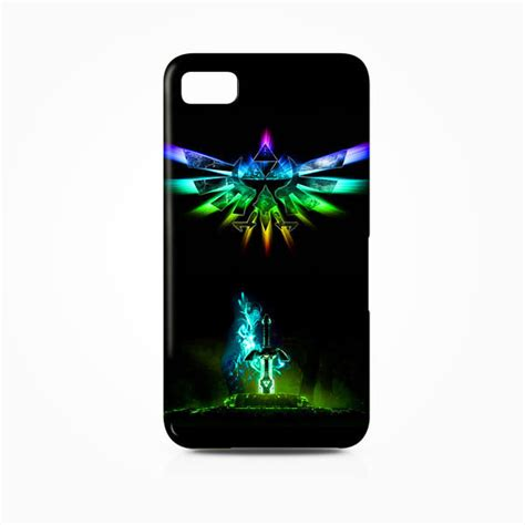 rainbow legend of triforce royal seal weapon bb blackberry z10 cover cases covers