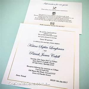elegant wedding stationery fine invitations sydney With classic wedding invitations sydney