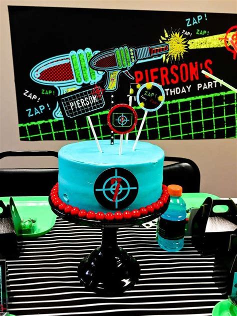 laser tag party images  pinterest laser tag