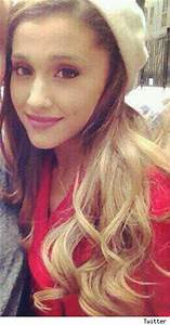 Ariana Grande Blonde Dip Dyed Ombre Hair A Hit Or Miss