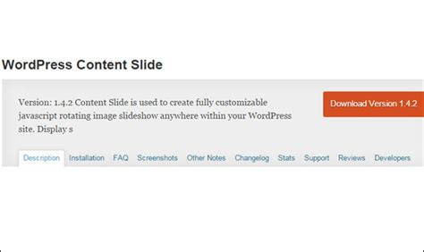 35 Content Slider Wordpress Plugins  Wp Template