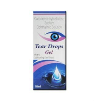 Tear Drops Gel Eye Drop 10 ml: Price, Overview, Warnings