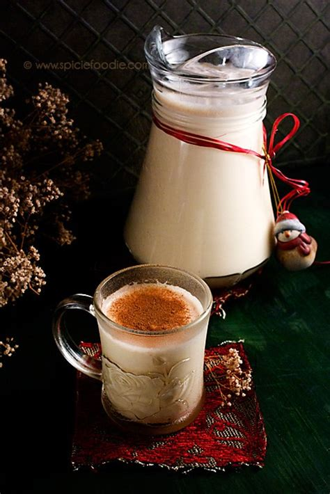 old fashioned eggnog recipe non alcoholic spicie foodie wishes you a very merry christmas