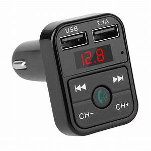 Auto Fm Transmitter : quelima b2 car bluetooth fm transmitter car charger car ~ Jslefanu.com Haus und Dekorationen