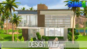 plans to build a house the sims 4 house building design villa speed build